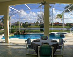 Florida is a tax-friendly state for real estate investors, providing numerous benefits to put your property investment dollars in the Sunshine State. Pool Screen Enclosure, Screen Enclosures, Pool Enclosures, Florida Lanai, Screened Pool, Pool Shade, Real Estate Investor, Cool Pools, Outdoor Entertaining