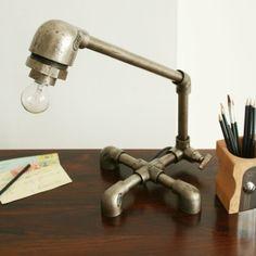 'man' room lamp