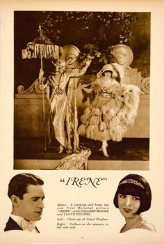 """Colleen Moore and Lloyd Hughes in """"Irene"""" (1926)"""