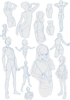 Body Reference Drawing, Drawing Reference Poses, Human Drawing, Drawing Base, Concept Art Tutorial, Arte Sketchbook, Anime Drawings Sketches, Art Poses, Anatomy Art
