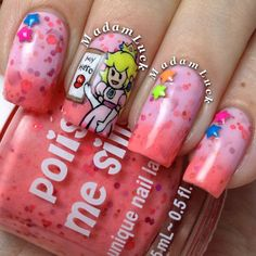 Peach Me A Lesson- -Color Changing Thermal Nail Polish:  Custom-Blended Indie Glitter Nail Polish / Lacquer on Etsy, $6.17 CAD