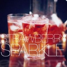 Great video showing you how to make a Strawberry Sparkle....