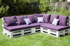 canape en palette , meuble de jardin en palette, fauteuil en palette, palette en bois