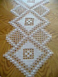 Handmade tavolo Crochet natura |