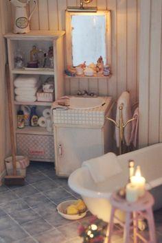 Miniature bathroom
