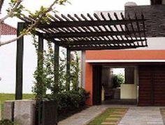 wooden pergola carport - Google Search