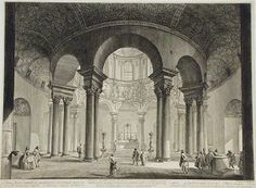 Veduta interna del Sepolcro di S. Costanza from Le Vedute di Roma (View of the I 1756 18th Century 16 1/4 in. x 21 3/4 in. (41.28 cm x 55.25 cm)   Giovanni Battista Piranesi (Venice, 1720 - 1778, Rome) Primary   Object Type: Print Medium and Support: etching (Hind 37, iii) Credit Line: Arkansas Arts Center Foundation Collection: Gift of Dr. and Mrs. James Guthrie, Camden, Arkansas. 2003.020.004 Accession Number: 2003.020.004