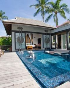 For the utmost privacy, the villa decks are enclosed by wood fences; here's a Sala Pool Villa. #Jetsetter  http://www.jetsetter.com/hotels/thailand/phuket/1087/anantara-phuket-villas?nm=splash=asia=2=6