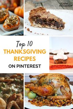 A little something for everyone. Fill your plate with these top 10 Thanksgiving recipes from Pinterest.