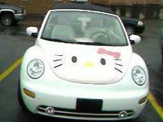 Hello Kitty Car !