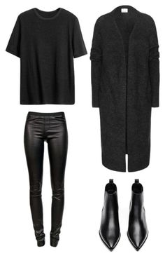 """""""All black"""" by trendsy on Polyvore"""