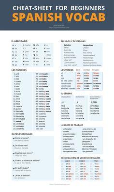 Basic Spanish Words