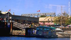 Granville Island Aquabus, food markets, fresh fruit etc.. a magic place by all accounts!