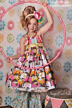 Circus Party Knot Dress