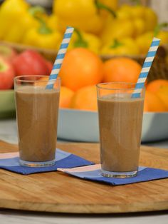 Complete Breakfast Smoothie Recipe : Katie Lee : Food Network - FoodNetwork.com (S5 - Rise and Shine)