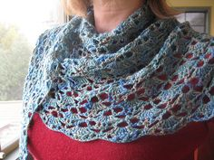 shawlette - South Bay Shawlette  Lion Brand Knitting free pattern