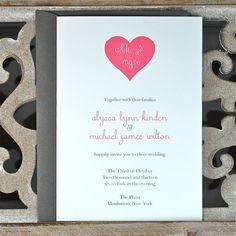 Wedding Invitations  Wedding Invites  by SweetBellaStationery, $2.50