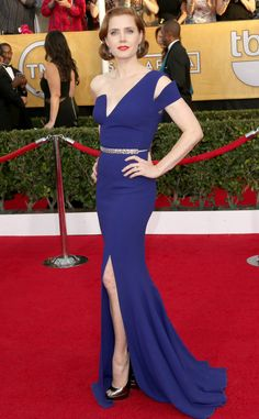 Amy Adams | Antonio Berardi | SAG 2014
