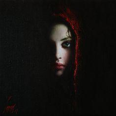 Cora par Taras Loboda (peintre ukrainien qui vit et travaille actuellement à Prague). Ses portraits de femmes sont magnifiques.
