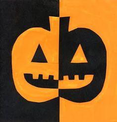 Tapa álbum escolar halloween