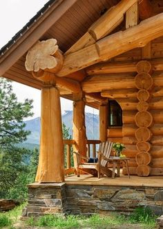 Summit Log & Timber Homes's Design Ideas, Pictures, Remodel, and Decor - page 29