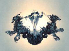 Famed Taiwanese American artist James Jean's recent & most celebrated works & artbooks images James Jeans, Wolf Illustration, Digital Illustration, Illustrations, Magazine Art, American Artists, Cool Art, Concept Art, Street Art