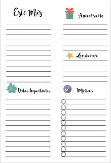 Cantinho da Cris - Planner e Papelaria Cute: Inserts para Setembro!!! Planner 2018, Agenda Planner, Day Planners, Happy Planner, Printable Planner, Planner Stickers, Daily Planner Pages, Bullet Journal Tracker, Creative Journal