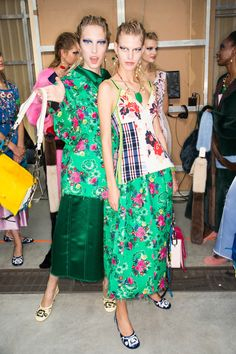 Marni Spring 2018 Ready-to-Wear Beauty Photos - Vogue