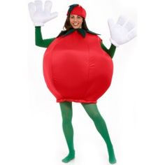 Homemade tomato costume directions #diy