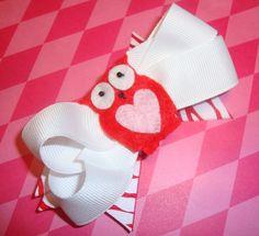 Owl Valentine's Bow