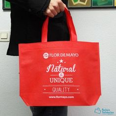 Reusable Tote Bags, Unique, Red Bags, Fabric Purses, Advertising, White People