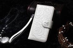 Designer iPhone 6 6S Case 4.7 Leather wallet case White