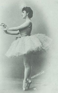 "Ballerina Mathilde Kschessinska. She was one of only 11 dancers to ever earn the rare & honored titled ""Prima Ballerina Assoluta."""