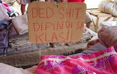 It doesn't get dead-er than shit. (For non-Filipino readers the sign is supposed to advertise bedsheets for sale but the merchant failed spelling class) :D Varona Maghanoy Memes Pinoy, Filipino Memes, Filipino Funny, Tagalog Quotes Funny, Pinoy Quotes, Qoutes, Funny Instagram Pictures, Funny Photos, Funny Sign Fails