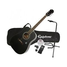 Acoustic Guitar Set Stage Stand Beginners Professional Use Musical Instruments Stage Set, Epiphone, Acoustic Guitar, Musical Instruments, Musicals, Play, Shopping, Music Instruments, Acoustic Guitars