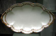 Half Price Haviland Sale - Antique Haviland Limoges Relish Dish Schleiger 874