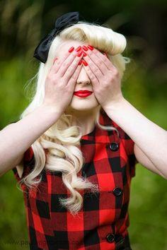 Bir Dilim Limon: Retro Saç Modelleri ve Makyaj Örnekleri