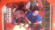 Irish tourist visiting Abu Dhabi takes taxi driver to Ferrari World theme park to 'make his dreams come true' - Weird News - News - The Independent Roller Coaster Ride, Roller Coasters, Dubai Tour, Irish News, Ferrari World, Good News Stories, Weird News, Dubai Travel, Taxi Driver
