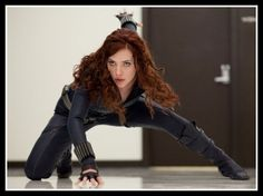 Iron Man 2 Black Widow Costume