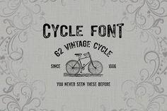 Cycle font-50% off by Jadugar Design Studio on @creativemarket