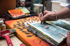 Helen Hallows, artist, British artist, sketchbook, artist sketchbook