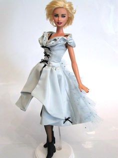 SOMEONE MADE A BARBIE OF MADONNA WEARING MY DRESS