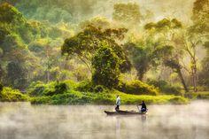 Nature Painting by GregoriusSuhartoyo (print image)