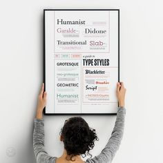 Typography Classification Poster Type Print Lettering Style   Etsy Font Design, Branding Design, Typography Poster, Typography Design, Printing Services, Online Printing, Walmart Photo Center, Websites Like Etsy, Cocktail Gifts