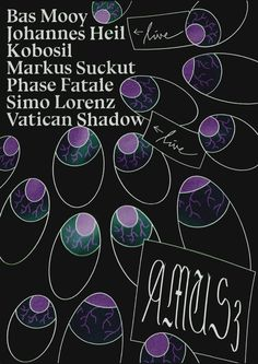 RA Tickets: AMUS3 ADE Special with Kobosil, Vatican Shadow*Live, Phase Fatale at Undercurrent, Amsterdam