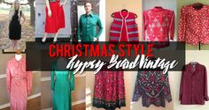 Gypsy Beard: Christmas Style at Gypsy Beard Vintage