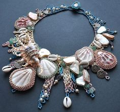 Beadwork by Lucie Avramova. Rhaenys Necklace