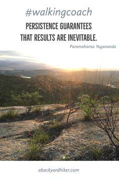 Get Motivated ~ A Backyard Hiker