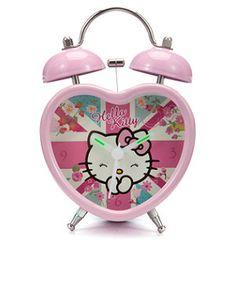 hello kitty alarm clock instructions