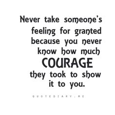 Have the courage to tell your true feelings to that special someone…